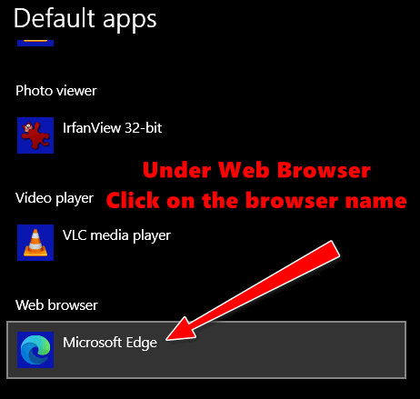 Windows 10 Tips- Default Apps - Cloudeight InfoAve