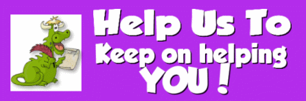 Help us to keep on helping you!