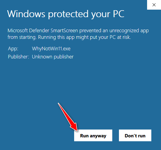 Overcoming Windows SmartScreen - Cloudeight InfoAve