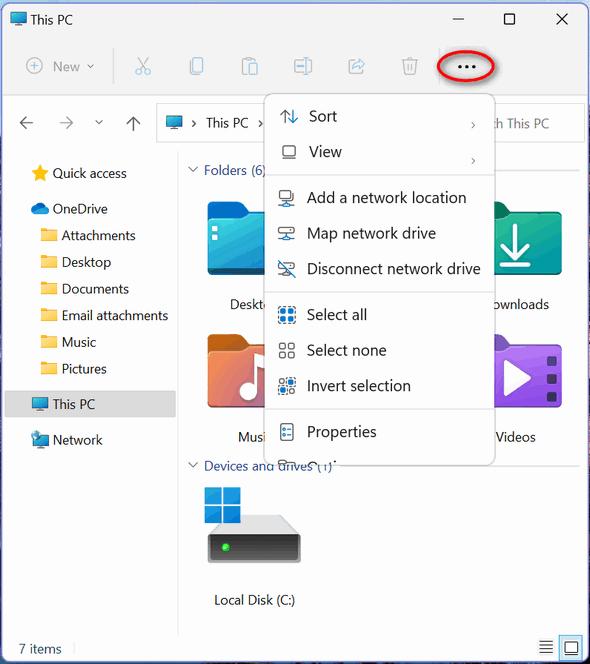 Windows 11 File Explorer -Cloudeight