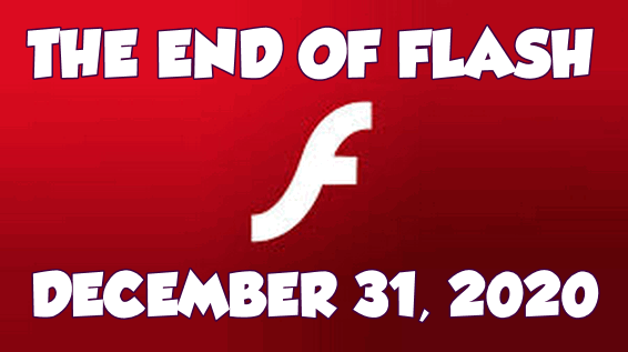 The end of Adobe Flash... Cloudeight InfoAve