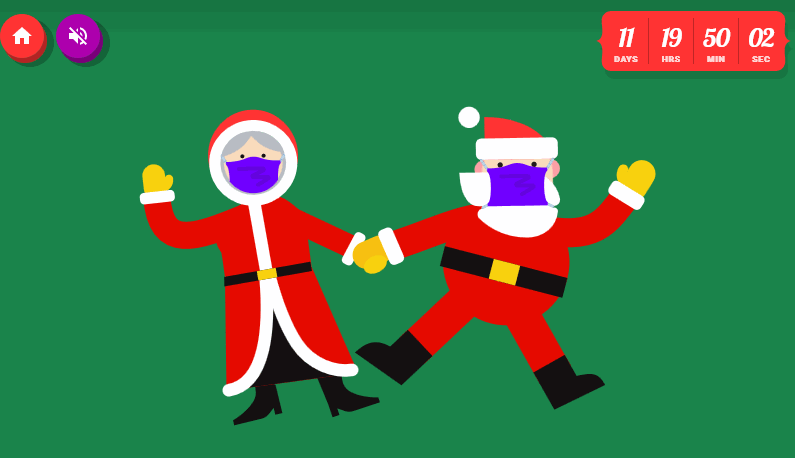 Santa Tracker - Cloudeight Christmas Site Pick