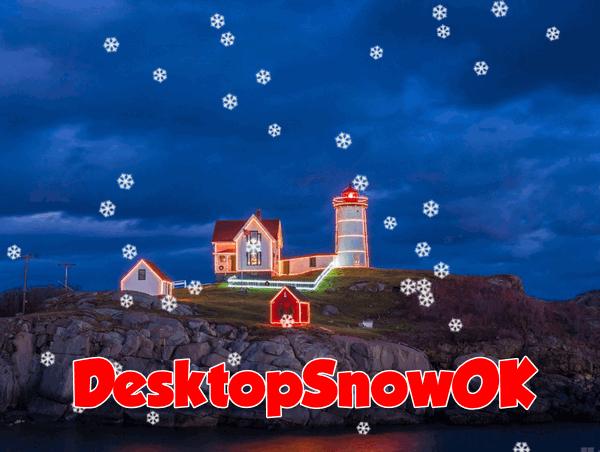 DesktopSnowOK - Cloudeight Freeware Pick