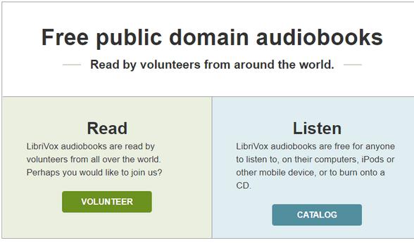 LibriVox - A Cloudeight Site Pick
