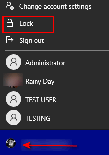 Windows 10 Tip - Cloudeight InfoAve - Lock Your PC