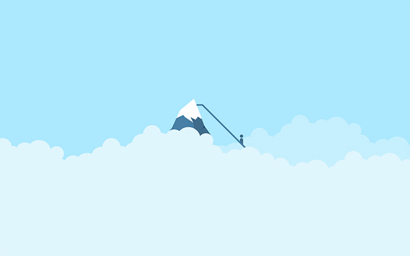 Minimalistic wallpaper - Cloudeight InfoAve