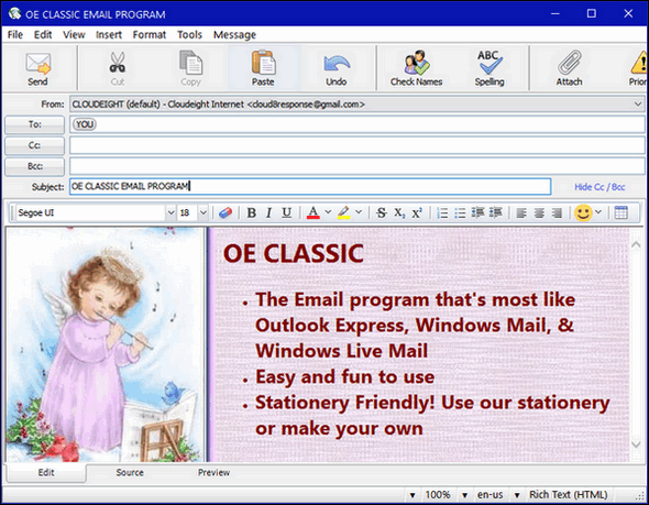 OE Classic & Cloudeight