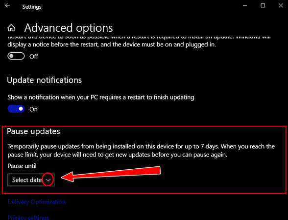 Windows Update Cloudeight InfoAve