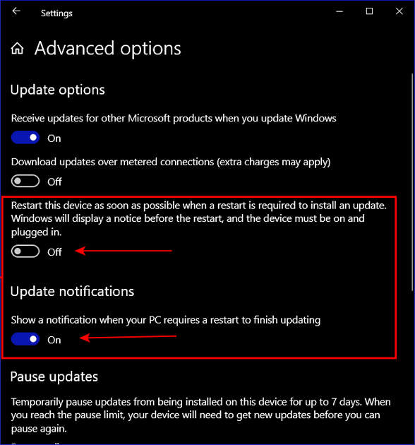 Cloudeight InfoAve Windows 10 Tips - Pause Updates