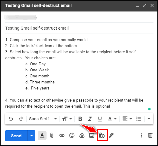 Gmail Tips - Cloudeight - Self-destructing emails.