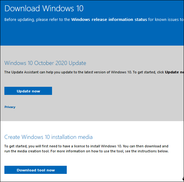 Windows 10 Upgrade Page - Cloudeight Windows 10 Tips