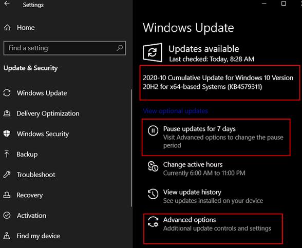 Windows Updates Cloudeight InfoAve
