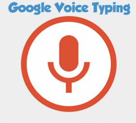 Google Voice Typing - Cloudeight Google Tips