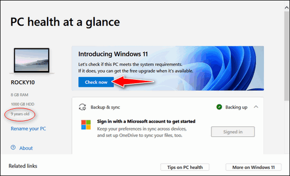 Windows 11 Compatibility App - Cloudeight InfoAve