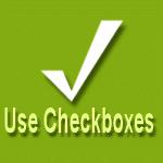 Use check boxes in Windows Vista and Widnows 7