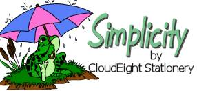 Free Email Stationery, Sometimes Simple is best. Welcome to The Simplicity Collection by CloudEight Stationery